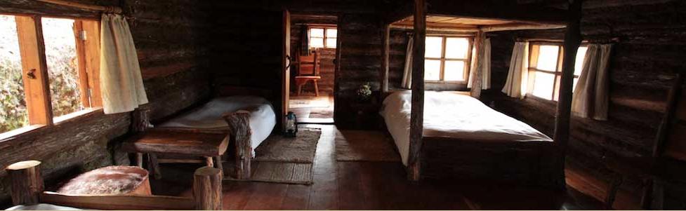 Rutundu log cabins near mount kenya adventure 52 for Cabins near mount magazine