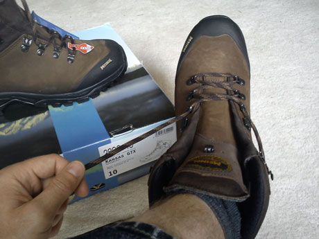 meindle kansas GTX boot review
