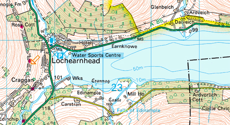 Neil Gregory owns and runs the watersports centre you see on the map here.