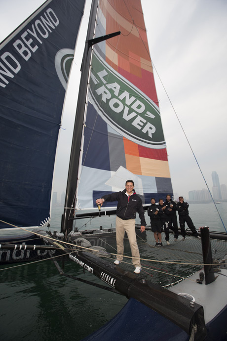 Land Rover Extreme sailing series