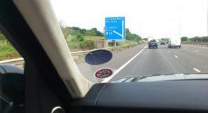 2014_Range_Rover_Sport_launch_motorwaysign