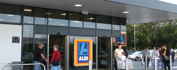 aldi shopfront - Adventure 52 magazine
