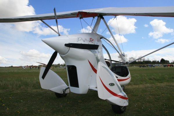 PulsR microlight review rear view