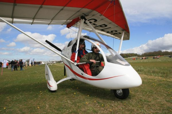 PulsR microlight review two people on board