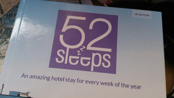 LateRooms.com 52 Sleeps book - adventure 52 magazine