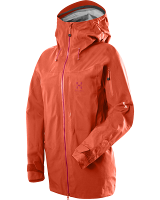 Haglofs AW14 Vojd jacket ladies orange - Adventure 52 magazine