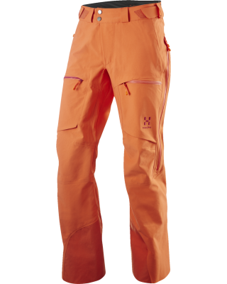 Haglofs AW14 Vojd pants ladies orange - Adventure 52 magazine