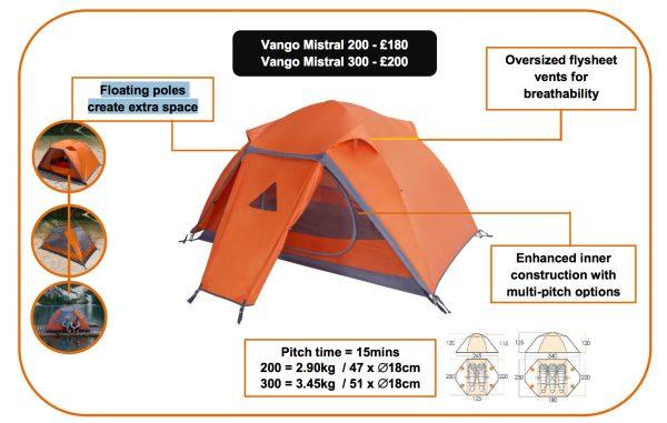Vango Mistral tent
