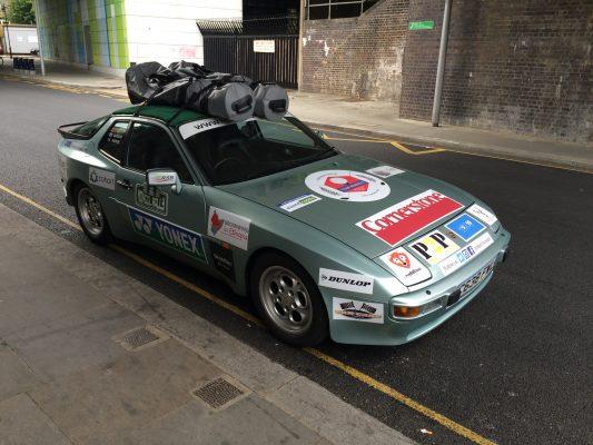 Mongolf rally - Car