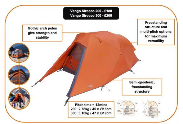 Vango Sirocco tent