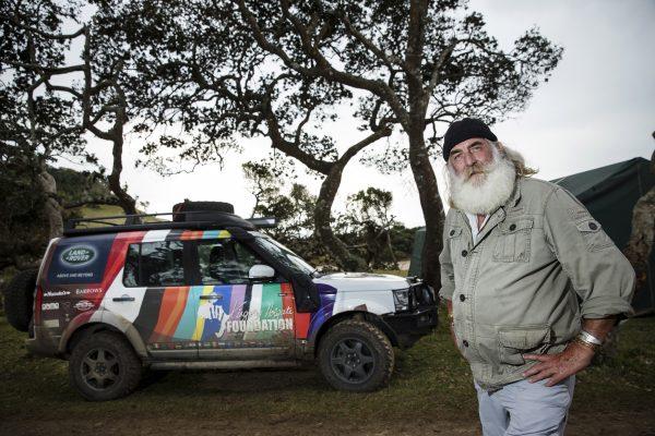 Land Rover ambassador Kingsley Holgate