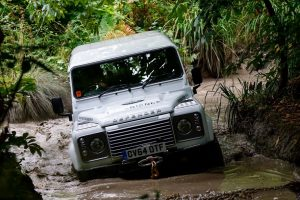 Off Road Driver Training at Eastnor Land Rover Experience