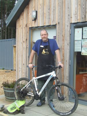 Steve Sacks at BikeGlenlivet