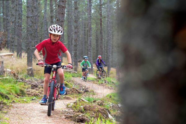 Bike Glenlivet family trail