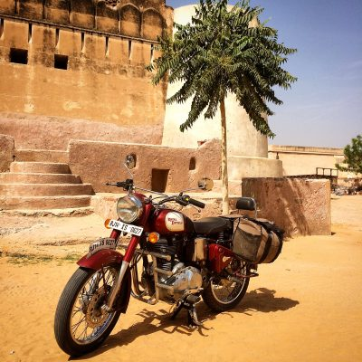 royal enfield desert relief ride
