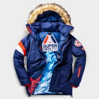 SuperdrySnow Everest down jacket