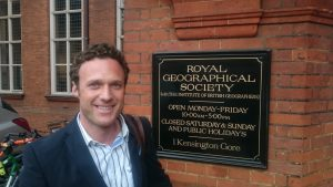 Dan's first visit to the RGS