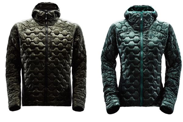 L4 jacket – mens left and womens right